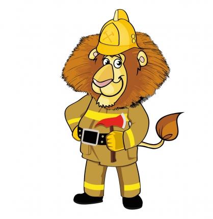 Талисман международных соревнований по пожарно-прикладному спорту