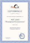 Сертификат пользователя программ FireCat в составе PyroSim, Pathfinder, FireRisk, PromRisk